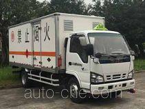 Qingling Isuzu QL5060XRQA5KAJ flammable gas transport van truck