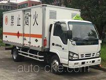 Qingling Isuzu QL5060XRYA5KAJ flammable liquid transport van truck