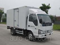 庆铃牌QL5060XXYA1FAJ型厢式运输车