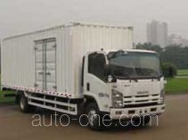 庆铃牌QL5080XXY9PARJ型厢式运输车