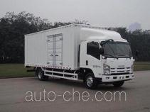 庆铃牌QL5100XXY9PAR1J型厢式运输车