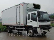庆铃牌QL5140XLC9QFRJ型冷藏车