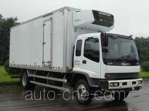 庆铃牌QL5140XLCTNFRJ型冷藏车