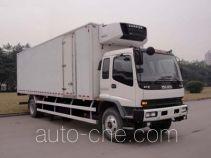 庆铃牌QL5140XLCTRFRJ型冷藏车