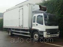 庆铃牌QL5160XLC9NFRJ型冷藏车