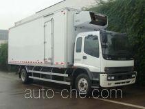庆铃牌QL5140XLC9RFRJ型冷藏车