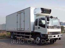 庆铃牌QL5160XLCARFRJ型冷藏车