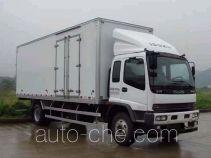 庆铃牌QL5160XXYARFR1J型厢式运输车