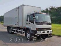 庆铃牌QL5240XXYDTFZ1J型厢式运输车