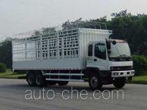Qingling Isuzu QL5250CCYDTFZJ stake truck