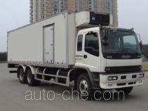 庆铃牌QL5250XLCRTFZJ型冷藏车