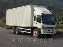 五十铃牌QL5250XXYDQFZ型厢式运输车