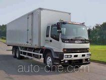 庆铃牌QL5250XXYDTFZ1J型厢式运输车
