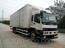 Qingling Isuzu QL5250XXYWTFZJ box van truck