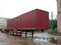 Hongda (Vimsome) QLC9320XXY box body van trailer