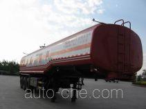旗林牌QLG9360GHY型化工液体运输半挂车