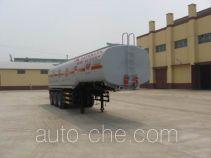 旗林牌QLG9400GHY型化工液体运输半挂车