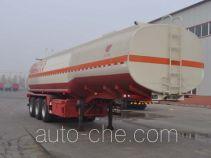 旗林牌QLG9400GRH型润滑油罐式运输半挂车