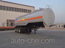 旗林牌QLG9400GYW型氧化性物品罐式运输半挂车