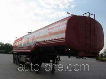 旗林牌QLG9401GHY型化工液体运输半挂车