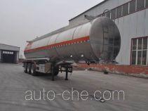 Qilin QLG9401GRY flammable liquid aluminum tank trailer