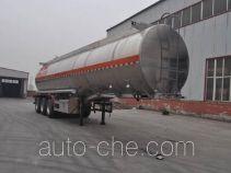 旗林牌QLG9401GRY型铝合金易燃液体罐式运输半挂车