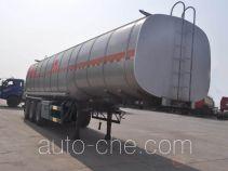 旗林牌QLG9401GRYA型易燃液体罐式运输半挂车