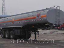 旗林牌QLG9402GFW型腐蚀性物品罐式运输半挂车