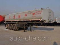 旗林牌QLG9402GRY型易燃液体罐式运输半挂车