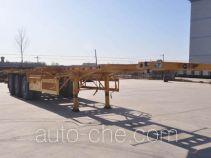 Qilin QLG9402TWY каркасный полуприцеп контейнеровоз для контейнеров-цистерн с опасным грузом
