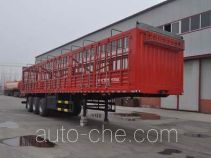 旗林牌QLG9403CCY型仓栅式运输半挂车