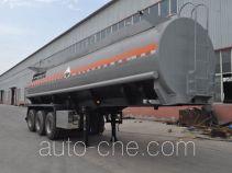旗林牌QLG9403GFW型腐蚀性物品罐式运输半挂车