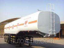 旗林牌QLG9403GHY型化工液体运输半挂车