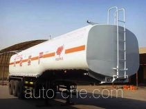 Qilin QLG9403GHY chemical liquid tank trailer