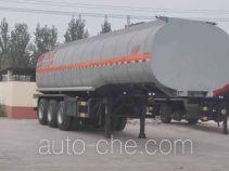 旗林牌QLG9403GRYA型易燃液体罐式运输半挂车