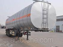 旗林牌QLG9403GRYB型铝合金易燃液体罐式运输半挂车