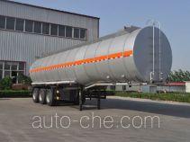 旗林牌QLG9403GSY型铝合金食用油运输半挂车
