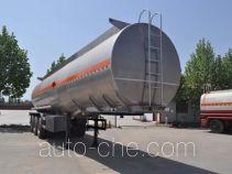 旗林牌QLG9404GRYB型铝合金易燃液体罐式运输半挂车