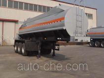 旗林牌QLG9405GFW型腐蚀性物品罐式运输半挂车