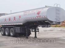 旗林牌QLG9405GRY型易燃液体罐式运输半挂车