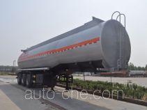 旗林牌QLG9405GRYA型易燃液体罐式运输半挂车
