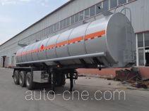 旗林牌QLG9405GRYB型易燃液体罐式运输半挂车