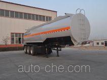 旗林牌QLG9406GFW型腐蚀性物品罐式运输半挂车