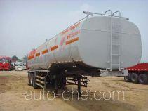 旗林牌QLG9406GRY型易燃液体罐式运输半挂车