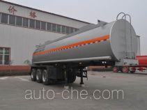 旗林牌QLG9407GFW型腐蚀性物品罐式运输半挂车