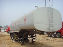 旗林牌QLG9407GRY型易燃液体罐式运输半挂车