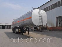 Qilin QLG9407GRYA flammable liquid aluminum tank trailer