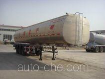 旗林牌QLG9408GRY型易燃液体罐式运输半挂车