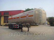 Qilin QLG9408GRYL flammable liquid aluminum tank trailer
