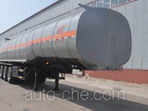 旗林牌QLG9409GRY型易燃液体罐式运输半挂车